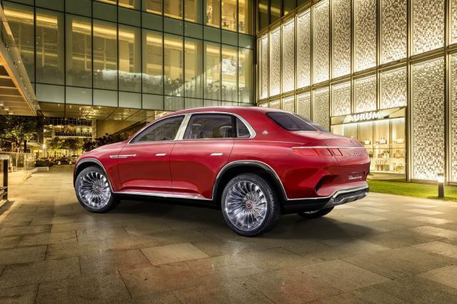 Mercedes Maybach Ultimate Luxury, un concept prémium qui a de l'allure